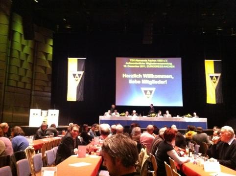 Mitgliederversammlung Alemannia Aachen 2011 Eurogress Aachen