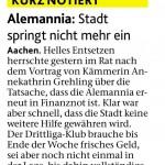 Aachener Nachrichten - 25.10.2012