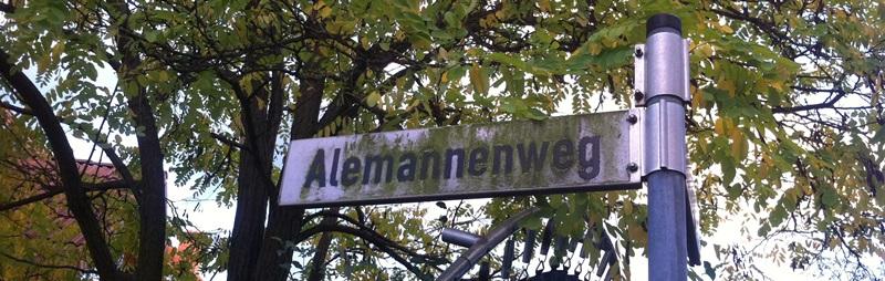 Alemannenweg in Friedrichsdorf