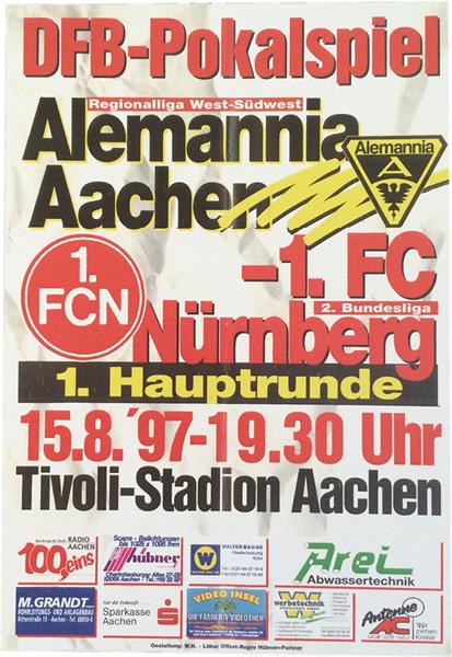 Historie: Pokal gegen Nürnberg