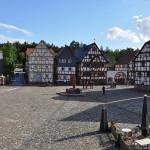 Marktplatz im Hessenpark, Foto: Karsten Ratzke, CC Wikimedia Commons