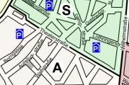 Hier gelten Parkzone A und S