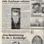 Alemannia - Die Rückkehr am 28. Mai 1999