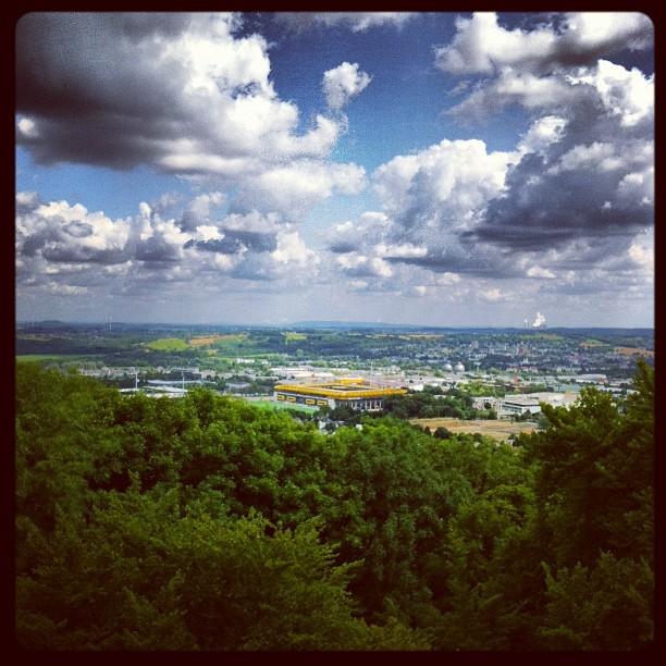 Tivoli - Sicht vom Lousberg, Aachen