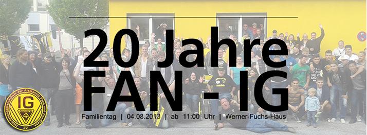 20 Jahre FAN IG  Aachen