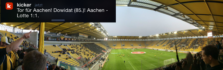 Alemannia Aachen Sportfreunde Lotte Tivoli 2014