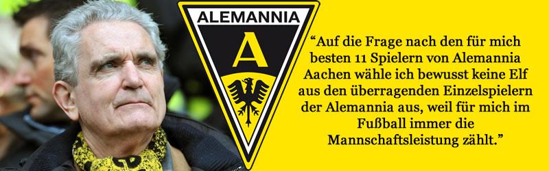 Horst Heinrichs größte Alemannia Elf