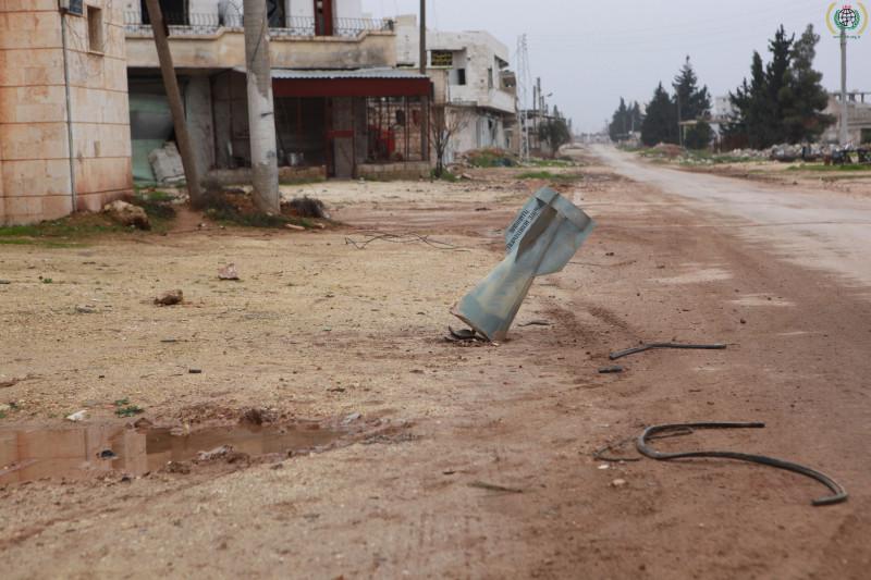Ein Foto aus Taftanaz, Syrien. IHH Humanitarian Relief Foundation
