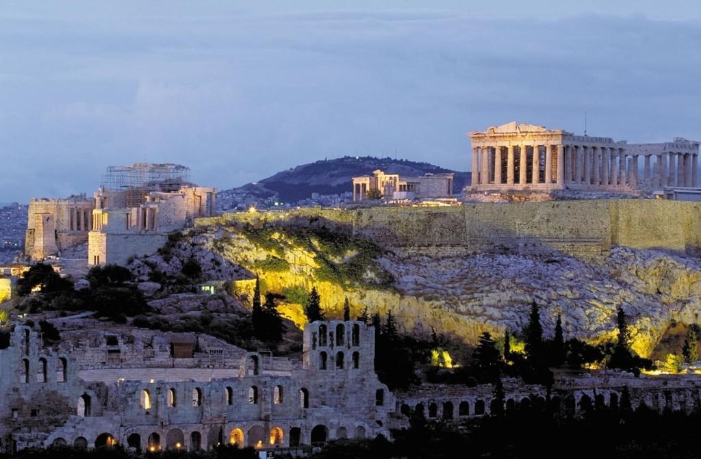 Akropolis in Athen, Griechenland