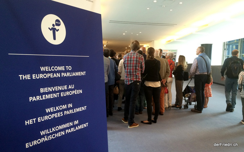 Tag der offenen Türe in Brüssel bei den europäischen Institutionen