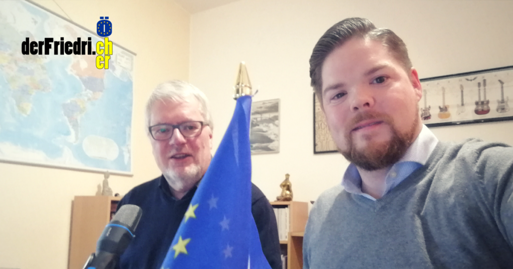 Michael From Friedrich Jeschke Talk Gespräch Europa Diem25