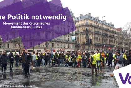 gelbwesten Friedrich Jeschke Links Kommentar Europa