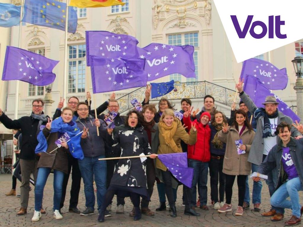 Volt Deutschland Kandidaten Europa Europawahl Bonn 2019