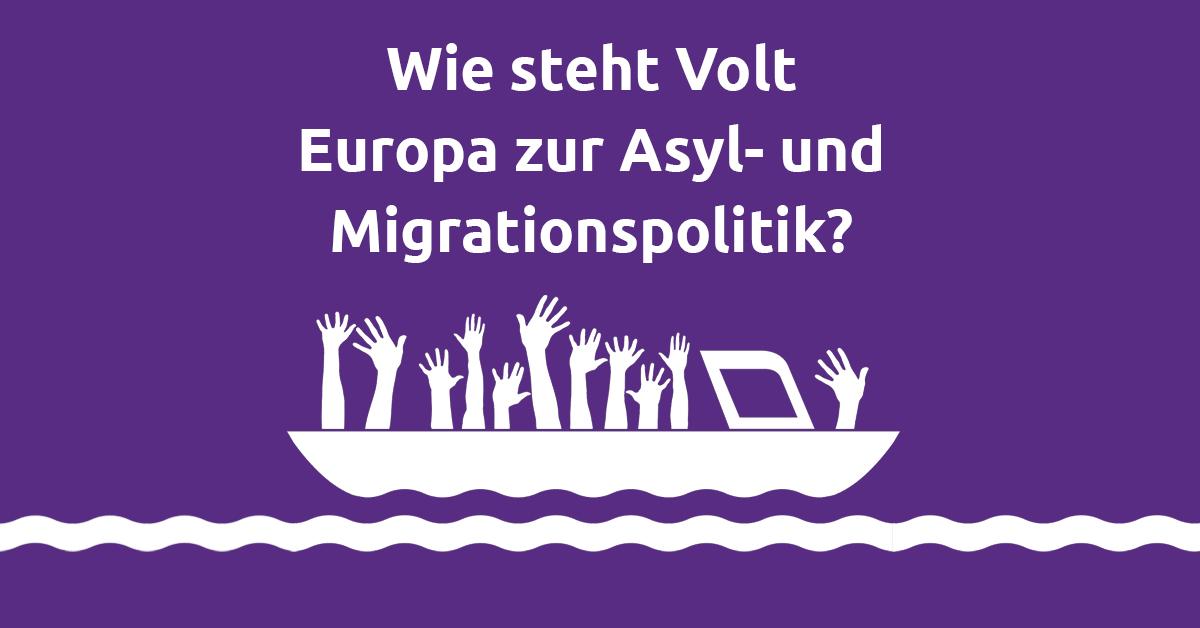 Friedrich Jeschke Volt europa Deutschland EU Politik Asyl Migration