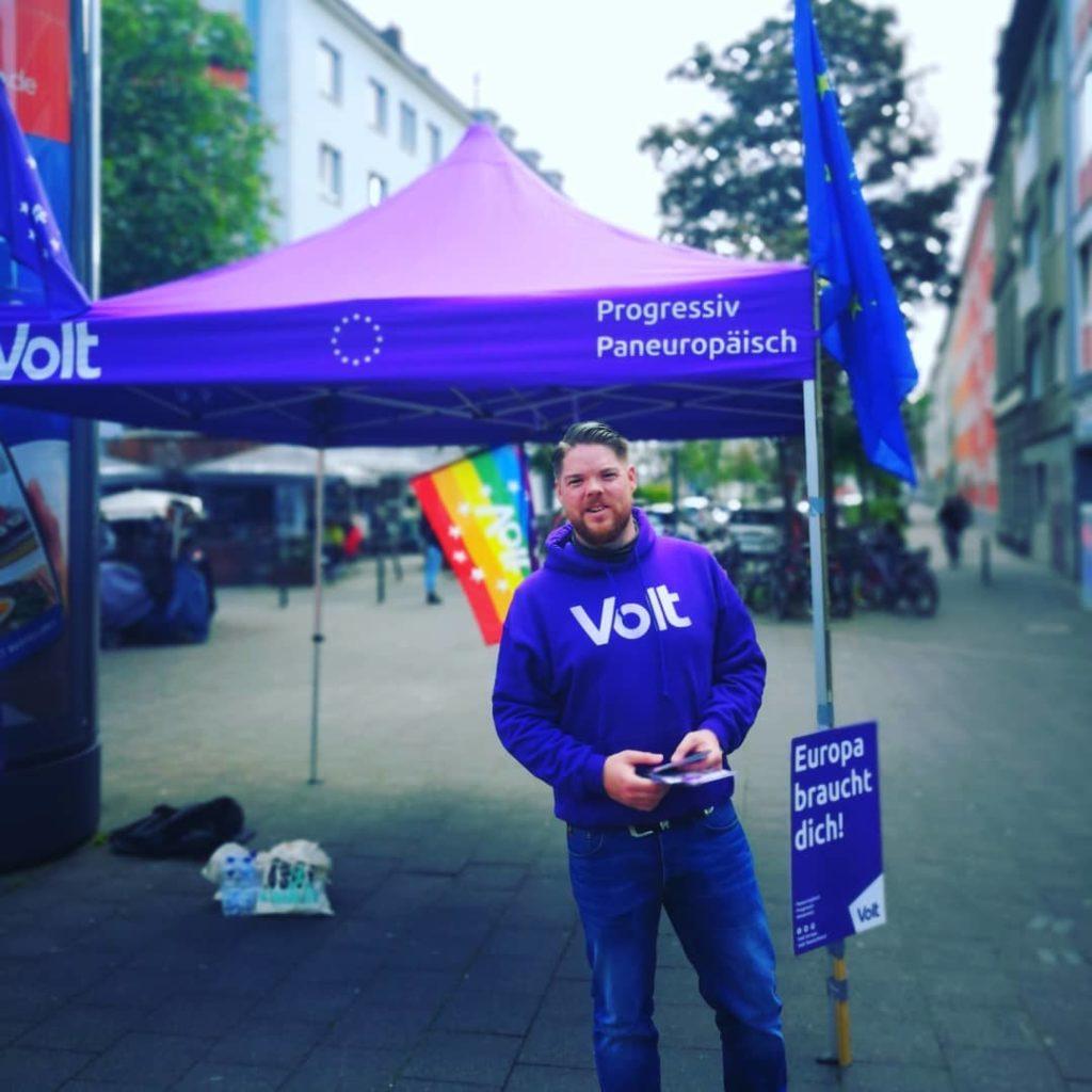 Friedrich Jeschke Volt Aachen Köln Europe Europa Politik Reformen Bild