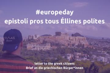 europeday europatag greece griechenland brief friedrich Jeschke Köln Aachen Deutschland NRW