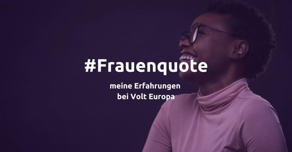 Frauenquote Volt euopa europe deutschland debatte Friedrich jeschke meinung aachen köln nrw
