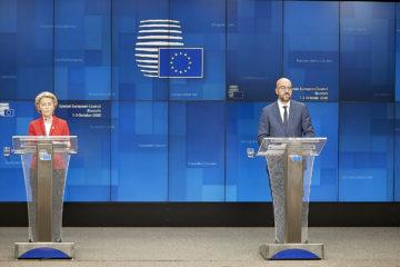 Michel und von der Leyen EU Kommission Europäischer Rat 2020